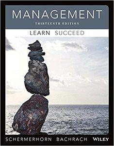 management 13th edition solutions manual schermerhorn bachrach