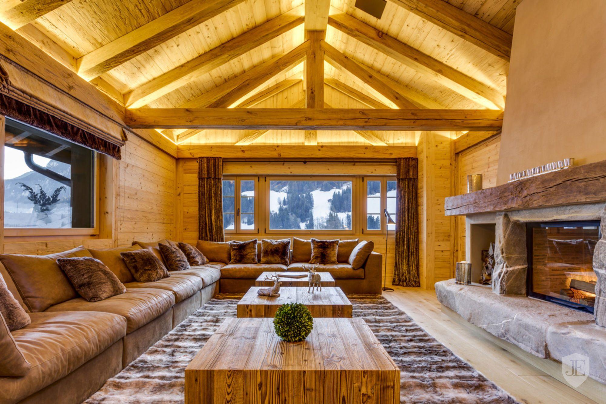 Magnificent Triplex In Rougemont Switzerland