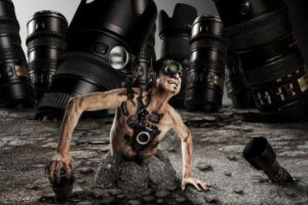The photographer by mysticalpotatohead on @DeviantArt