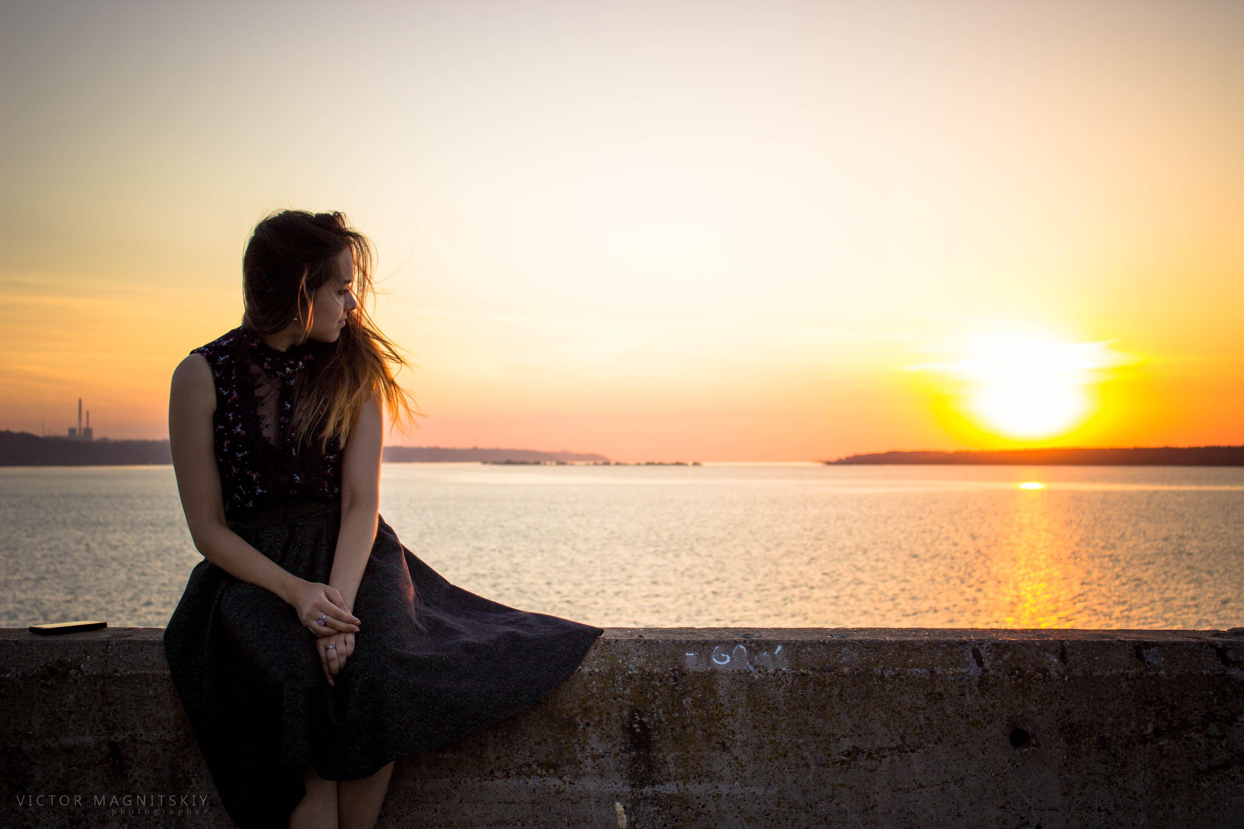 Красивые девушки красивые пейзажи