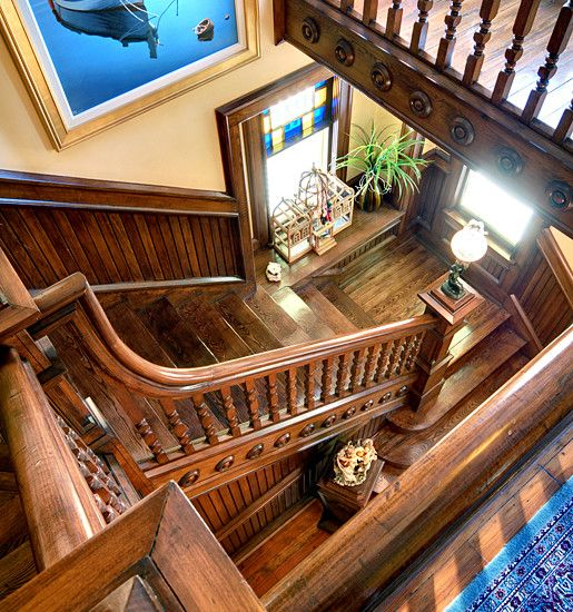 22 Modern Interior Design Ideas For Victorian Homes: Staircase Victorian Design, Pictures, Remodel, Decor And