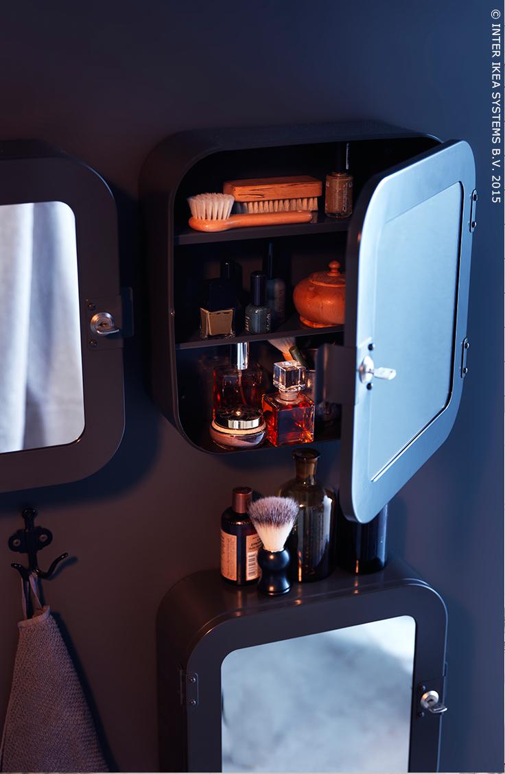 perfecte combinatie van spiegel en opbergruimte badkamer pinterest ikea storage catalog. Black Bedroom Furniture Sets. Home Design Ideas
