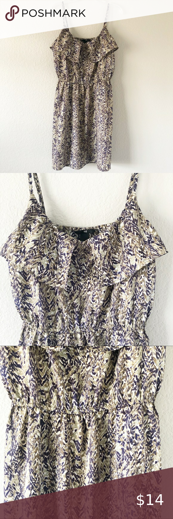 H M Cami Summer Dress Size 12 Summer Dresses Clothes Design Dresses [ 1740 x 580 Pixel ]