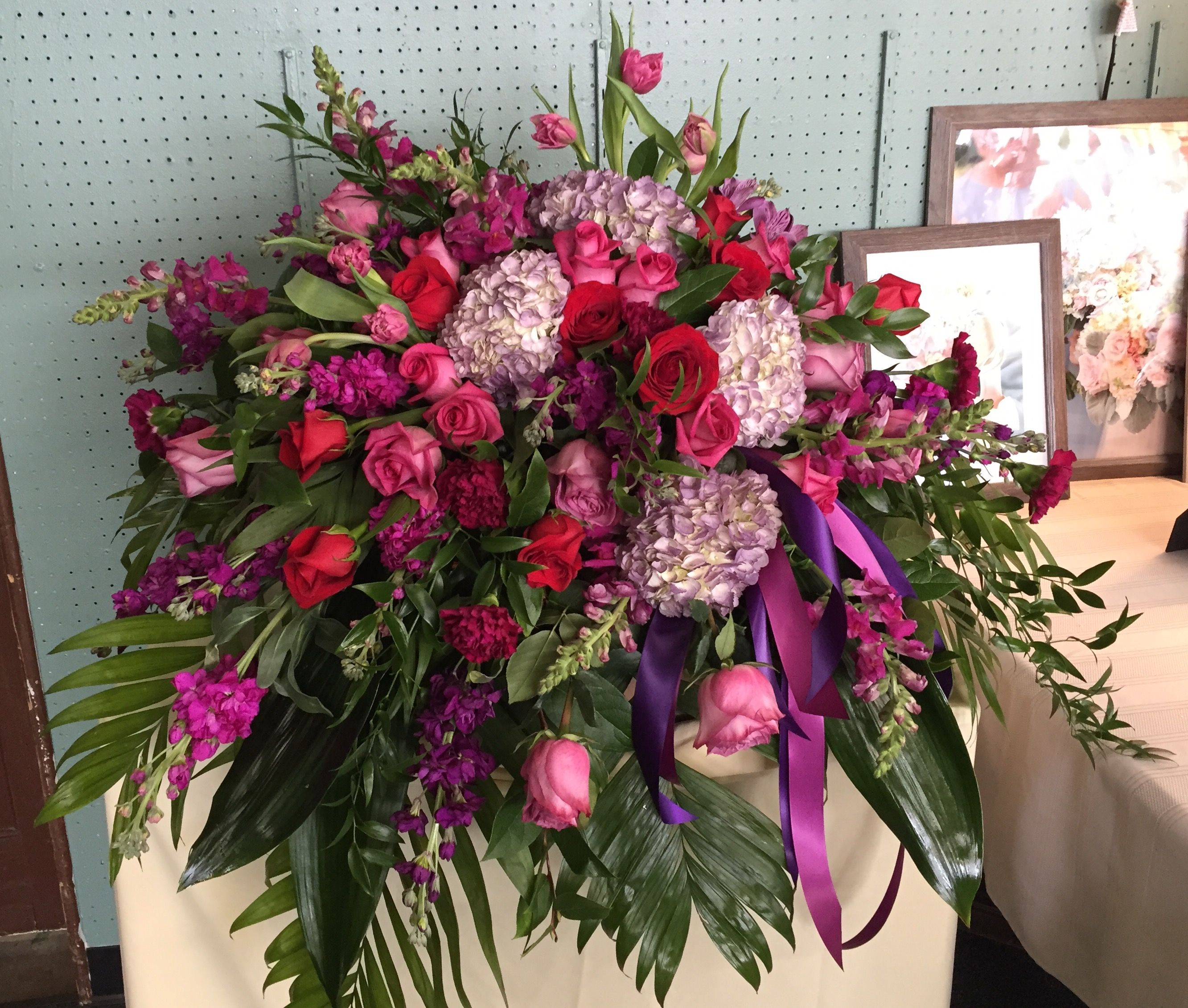Flowers by jackson florist covington ky sympathy funeral easel flowers by jackson florist covington ky sympathy funeral easel flowers casketspray izmirmasajfo