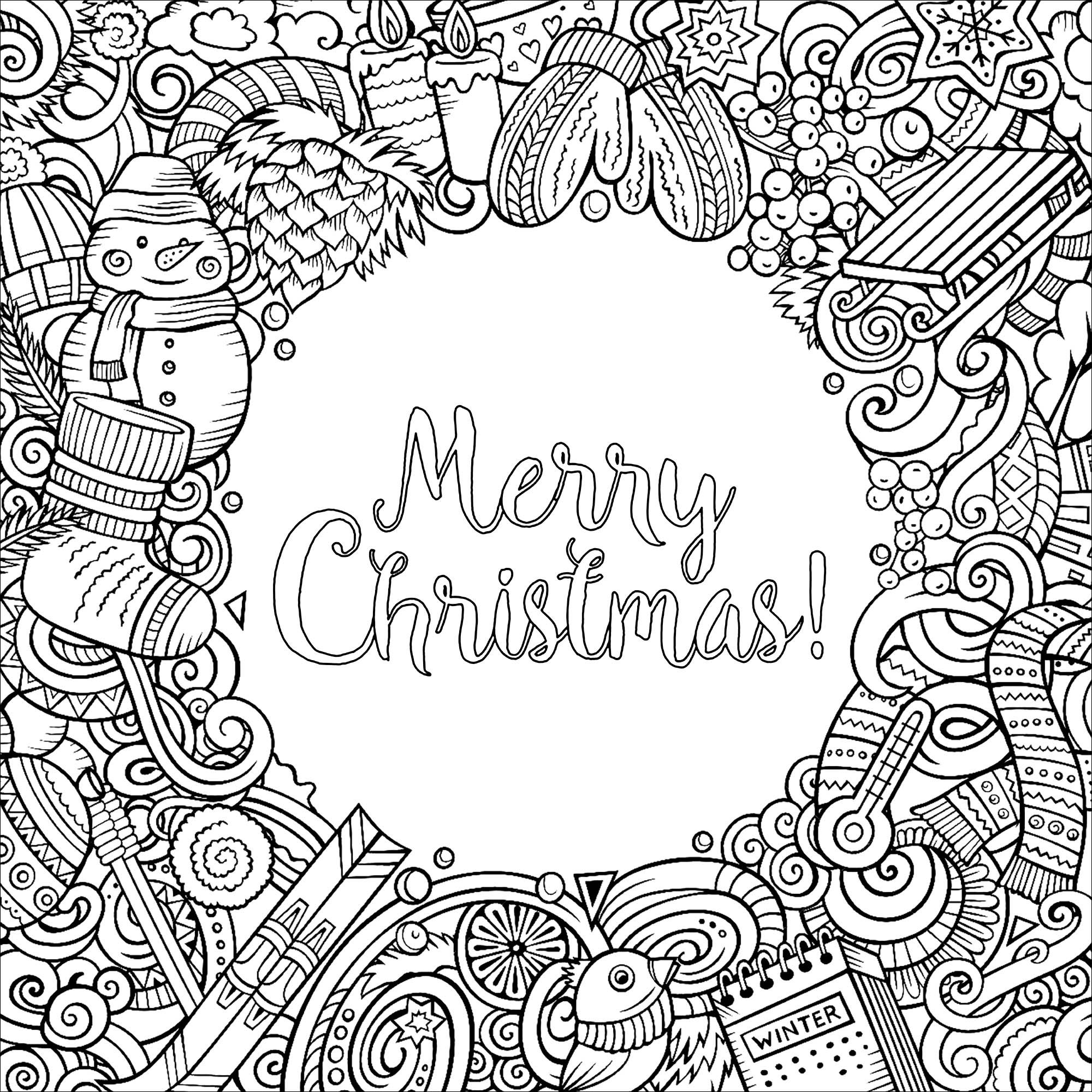 Coloring Rocks Merry Christmas Coloring Pages Printable Christmas Coloring Pages Santa Coloring Pages