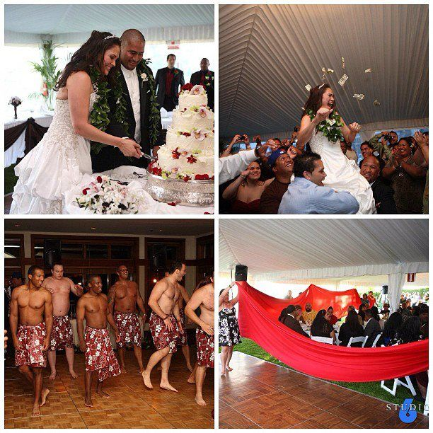 Samoan Wedding: Money Dance, Tapa Cloths, Great Food, And A Party That