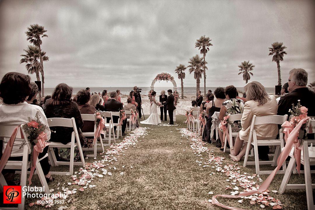 Beach Wedding Ceremony at Embassy Suites Mandalay Beach Resort ...