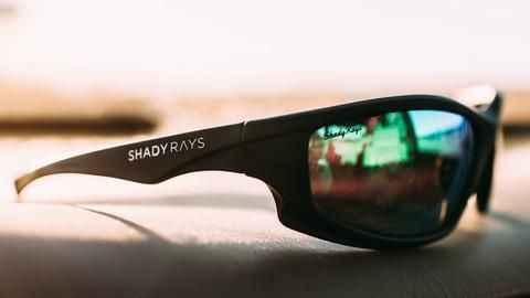583712cb7a6 Shady Rays Signature Series - Blackout Polarized Sunglasses – Shady Rays®