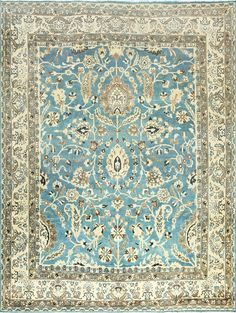 Light Blue Antique Persian Khorassan Rug 42143 By Nazmiyal Rugs Antique Persian Rug Khorassan Rug