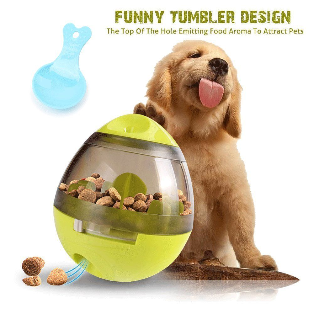 Interactive Dog Toy Plush Squeaky Giggle Ball Automatic Electronic
