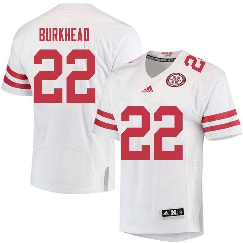 new product d06b8 f4625 Men #22 Rex Burkhead Nebraska Cornhuskers College Football ...