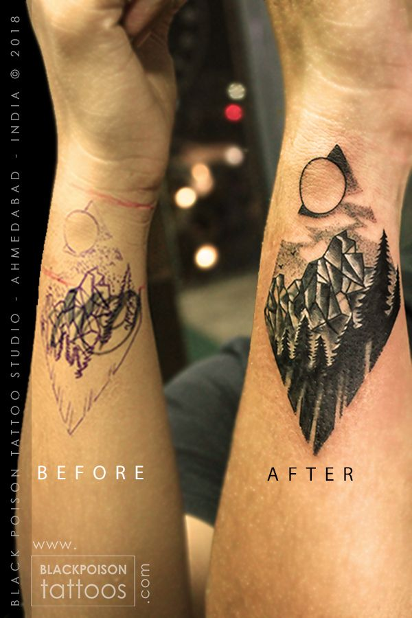 Coverup Tattoo Mountaintattoo Mountains Wanderlusttattoo Travellingtattoo Traveltattoos Smalltattoo Wristtattoo Small Tattoos Cover Up Tattoos Tattoos
