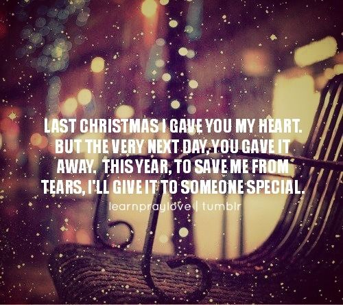 Wham Last Christmas Christmas Lyrics Last Christmas Last Christmas Lyrics