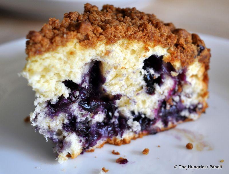 Recipe Blueberry Buttermilk Coffee Cake Breakfast cake