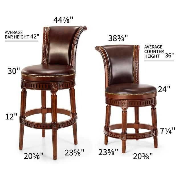 Manchester Swivel Bar Height Bar Stool 30 H Seat With Images