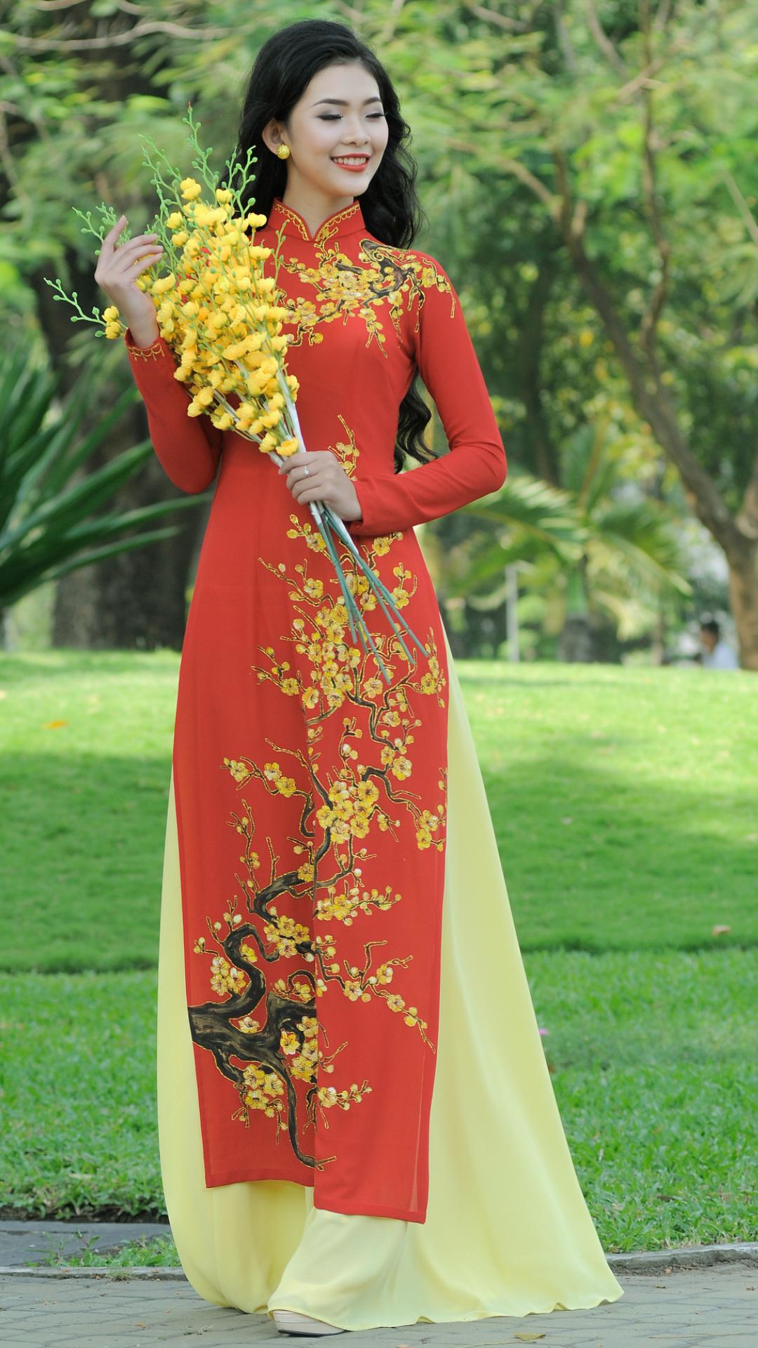 Vietnamese long dress vietnamese dress pinterest ao dai