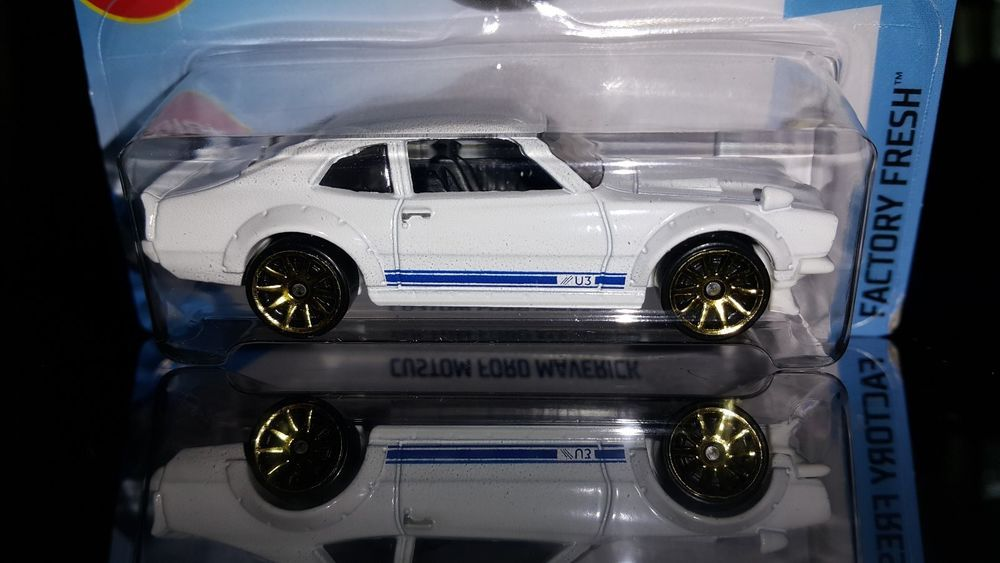 Details About 2018 Hot Wheels 1972 Custom Ford Maverick Factory