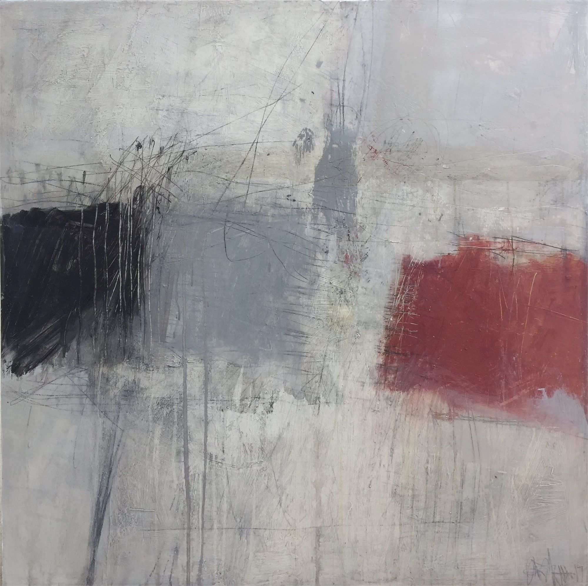 Untitled;  some of the latest new abstract works into the gallery by artist Jeri Ledbetter on view at Thomas Deans Fine Art #art #fineart #gallery #exhibition #paintings #modern #abstract #cotemporary #atlanta #thingstodoin #homedecor