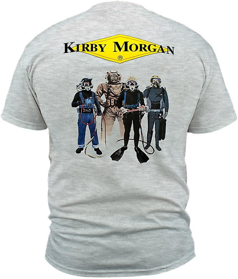 Why Tiptoe Through Life To Arrive Safely At Death Quote: Kirby Morgan® Apparel