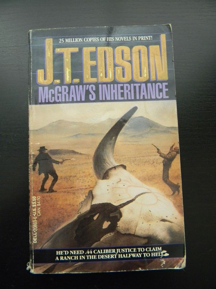 McGraw's Inheritance by J.T.Edson Paperback 1991