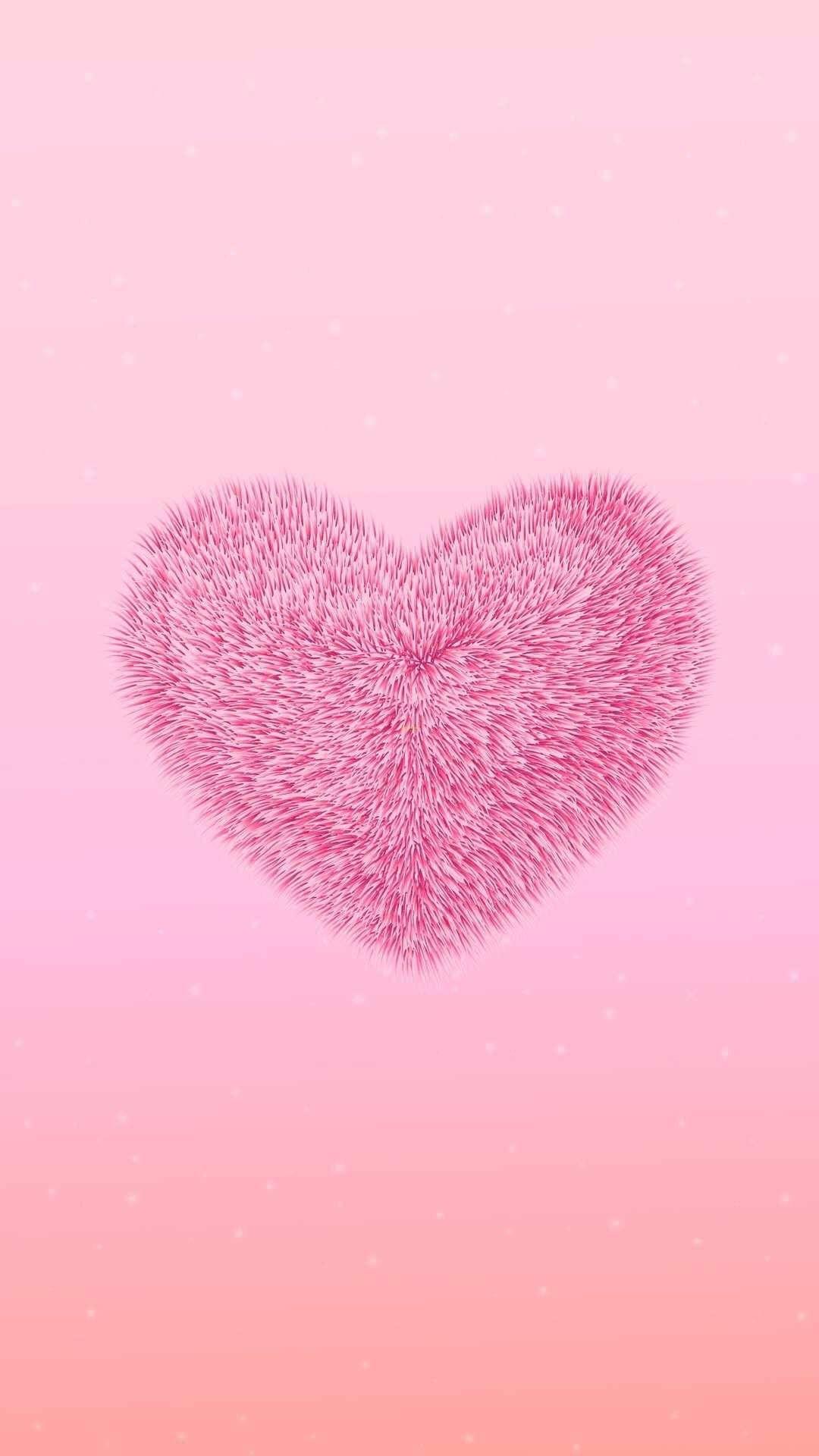 Fuzzy Heart 100 Iphone In 2021 Pink Wallpaper Backgrounds Pink Wallpaper Iphone Iphone Wallpaper Love iphone cute pink hd wallpaper