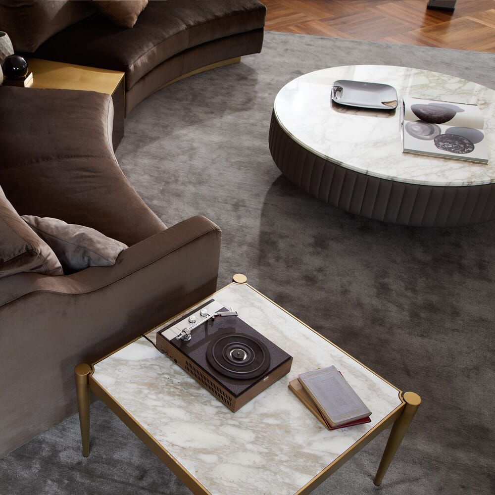 Italian Leather Upholstered Round Marble Coffee Table Juliettes Interiors Marble Round Coffee Table Marble Top Coffee Table Marble Coffee Table [ 1000 x 1000 Pixel ]