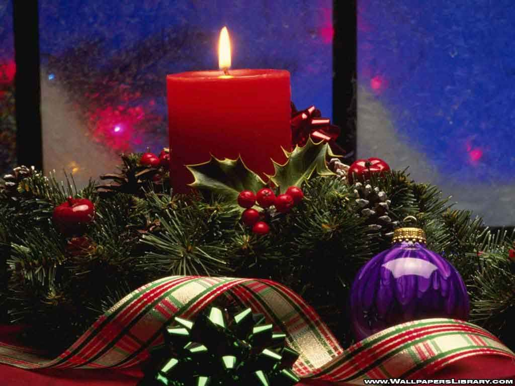 Christmas Candles | christmas candle wallpapers download ...
