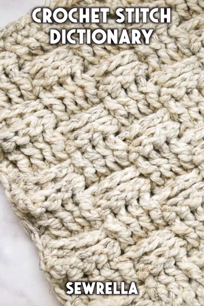 Photo of Crochet Stitch Dictionary – free video tutorials