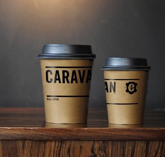 Packagingblog Best Packaging Designs Around The World Caravan Coffee Shop Branding Take Away Coffee Cup Coffee Cup Design