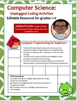 Greetings,I would like to thank you so very much for viewing this product.  Out of all the Computer Science resources I have created, this Unplugged Coding Activity is one of my all time favorites.So you want to teach young scholars how to write lines of code?