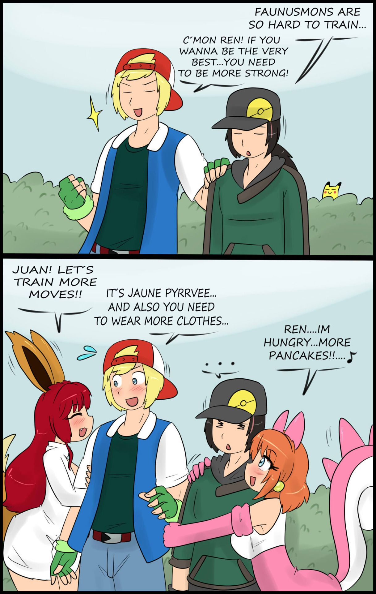 3D Comic: Trainer The