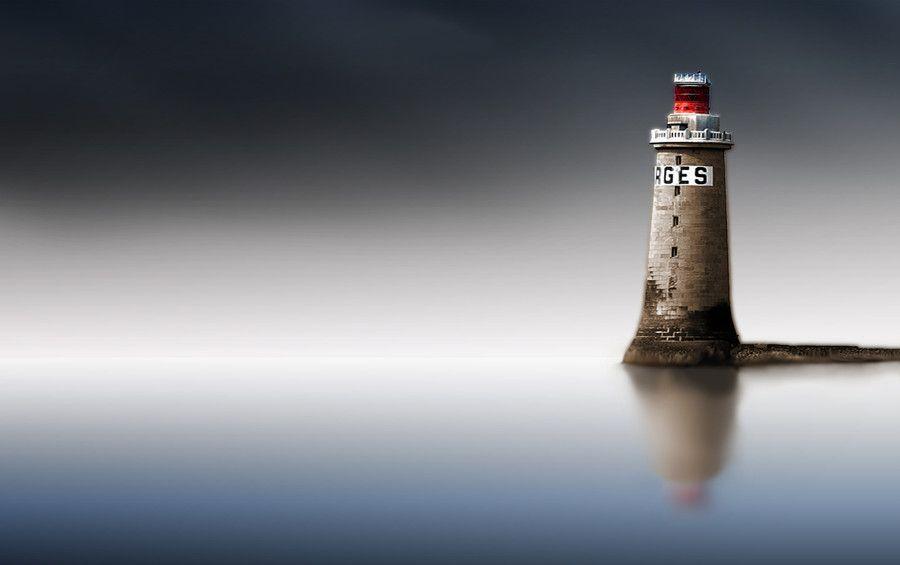 Phare Des Barges Les Sables D Olonnes By Jean Edouard Brument On