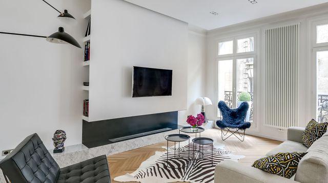 Appartement parisien d\u0027exception au charme haussmannien #design