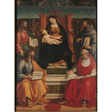 acts Francis of Assisi POSTER 24 X 36 INCH Catholic St saints