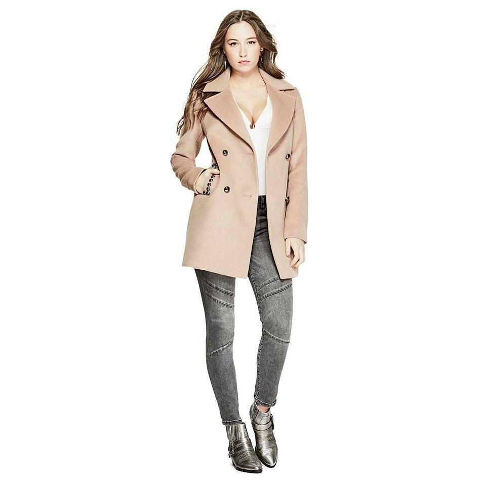 Damen mantel guess