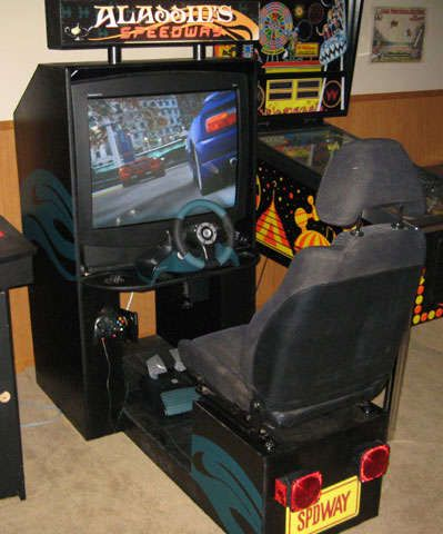 How To Build A Sit Down Driving Arcade Cabinet Gadgets And