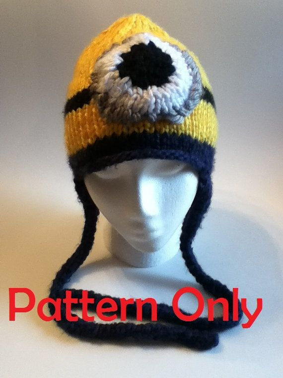 Minion Hats Knitting Kit Yarn Minion Hat Pattern For Adult Teen
