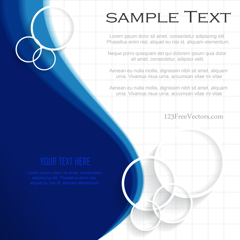 Blue Background Template Illustrator Free | Background templates