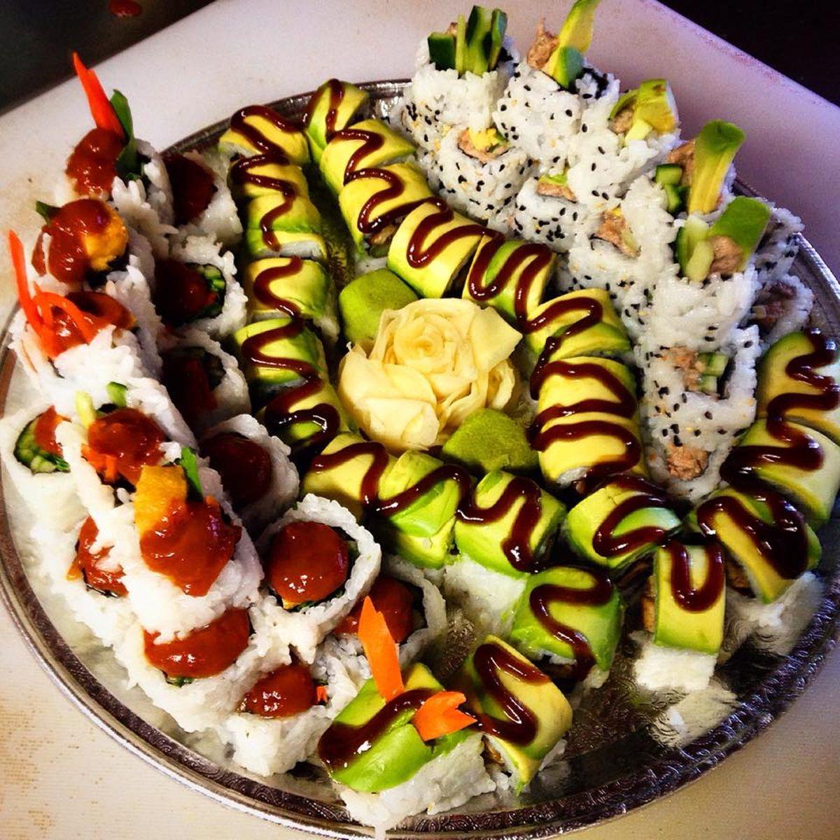 10 Restaurants In America Offering The Most Epic Vegan Sushi Rolls