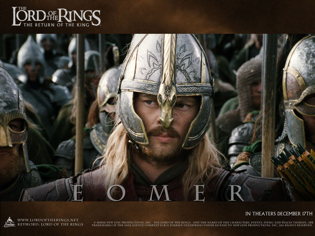 Lord Of The Rings Wallpaper Eomer