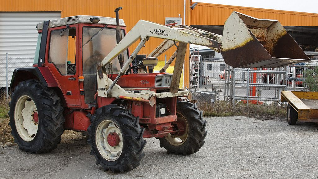 International 856 Xl Turbo Tractor Tractors Central Otago New Zealand