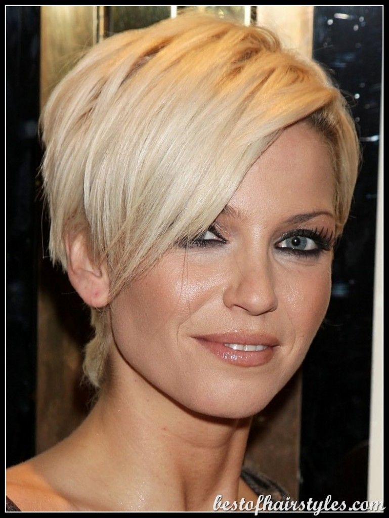 Short hairstyles for round faces round face haircuts bob wispy