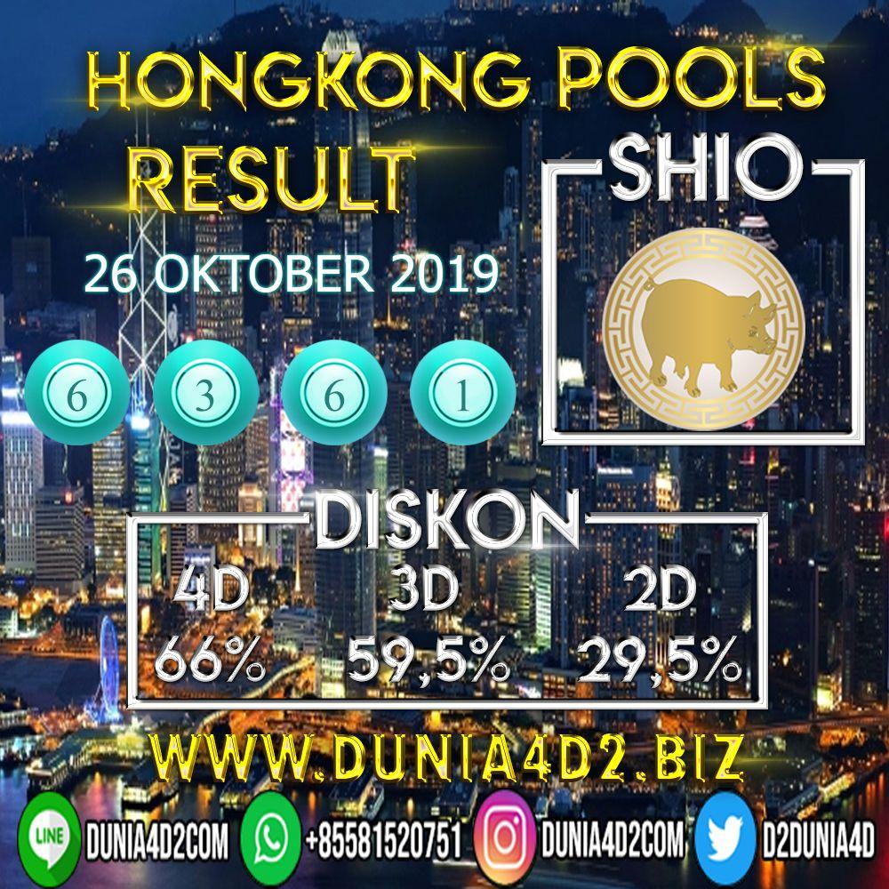 Result Hongkong Pools    Sah Shio Babi Salam