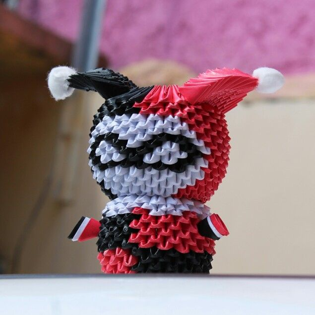 Photo of Harley Quinn 3D Origami
