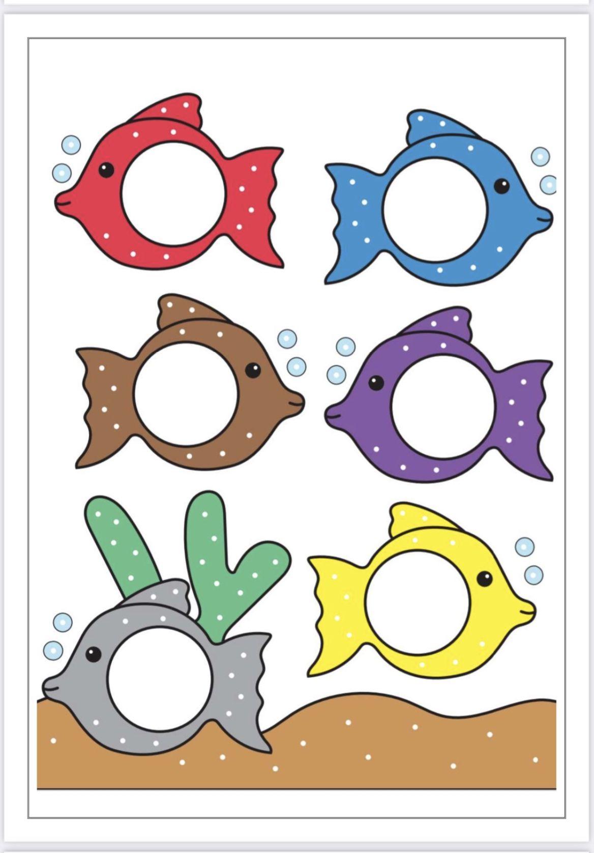 طابق الوان السمك In 2021 Preschool Activities Preschool Learning Activities Early Childhood Education Activities