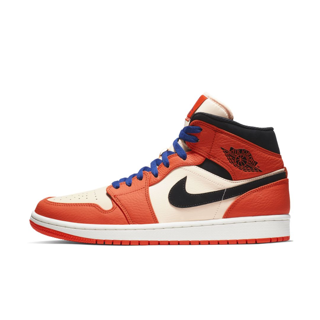 the latest acddc 07fa2 Air Jordan 1 Mid SE Men s Shoe Size 11 (Team Orange)