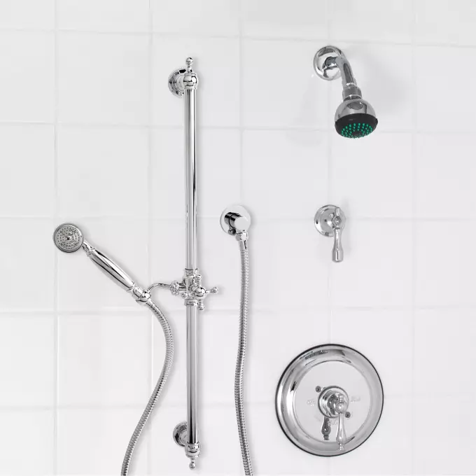 Chrome With Images Shower Systems Hand Shower Shower Faucet