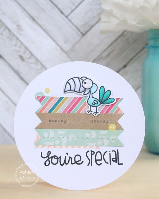 You're Special #card by Ashley Marcy fo #PaperSmooches
