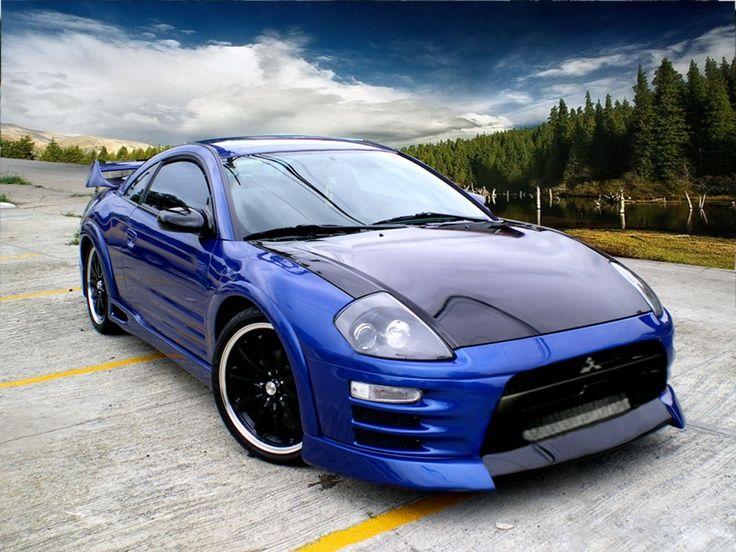 00-05 Mitsubishi Eclipse GT....my first car was a black 03 ...