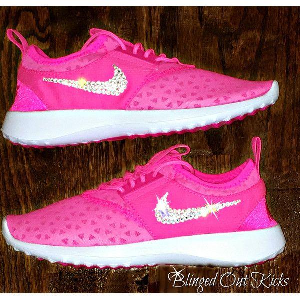 Womens Nike Juvenate Pink blast/white With Hand Placed Swarovski... ($138